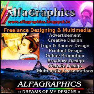 AlfaGraphics, Freelance Graphic Designing
