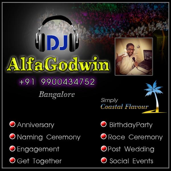 DJ AlfaGodwin Bangalore